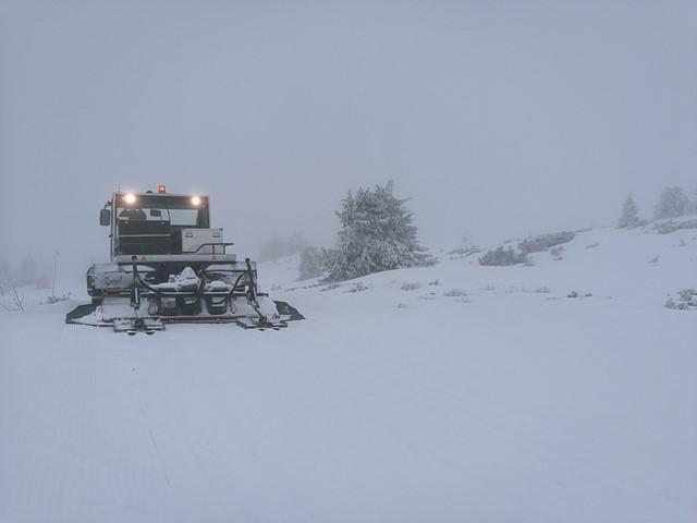 Løypenettet kjøres opp etter varslet snøfall kommende døgn...