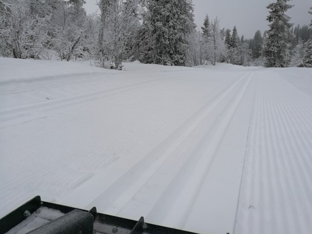 Det snør, og det skal fortsette å snø...