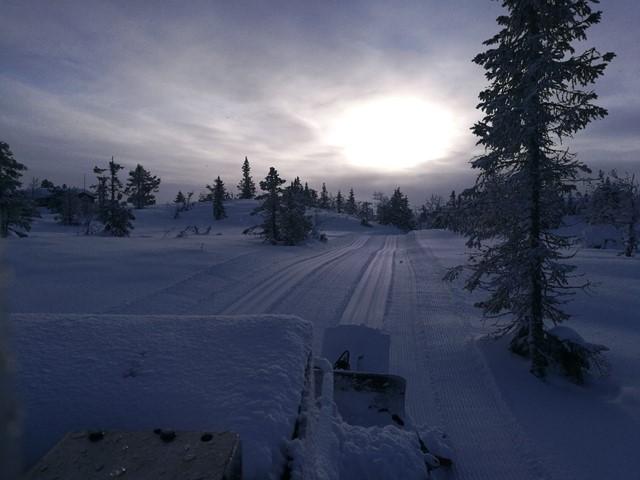 Det er i dag meldt rundt 15 cm med snø...