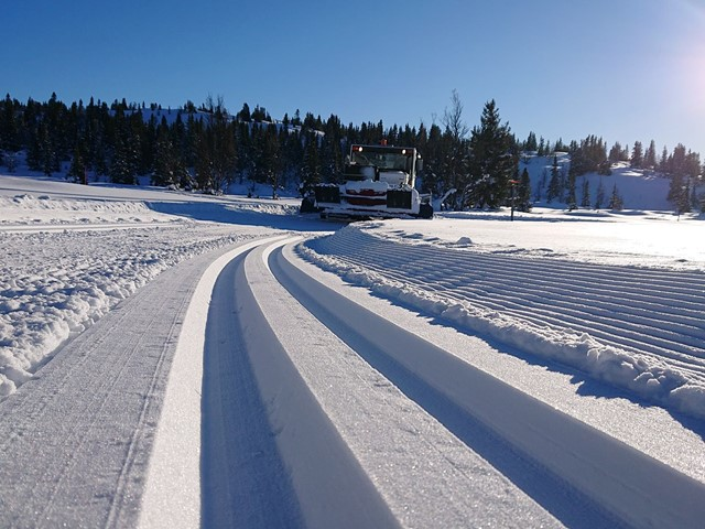 Finvær og flott start på vinterferiens uke 7