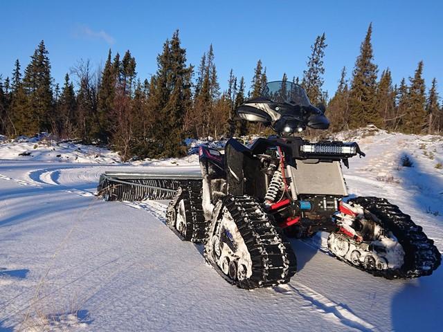 Forutsatt nok snø nærmeste døgn, forsøkes satt spor i tidligløypa/Norakerskogen