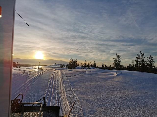 Løypekjøring vinterferien UKE 9 - oppdatert løyperapport søndag kveld